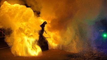 Очевидец снял на видео начало разлива топлива в Норильске