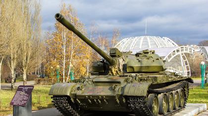 Танк Т-34 прибыл в Кемерово для участия в параде
