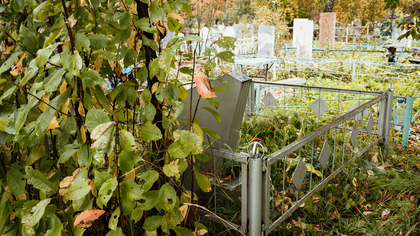 Вандалы уничтожили могилу участника ВОВ в Ленинске-Кузнецком