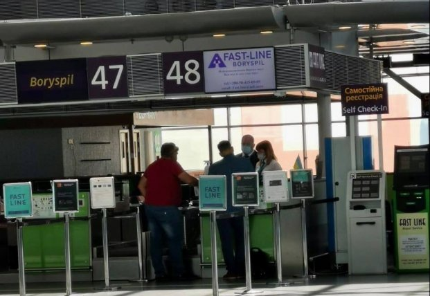 В Украине три аэропорта открыли пункты тестирования на коронавирус