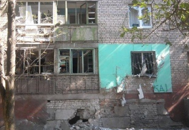 Как боевики обстреливали оккупированный Луганск в 2014 году (видео)