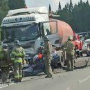 Три человека погибли в аварии с бензовозом под Кемеровом