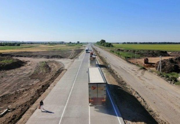 В Украине планируют построить тысячи км бетонных дорог