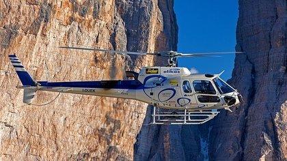 Два человека пострадали при посадке вертолета в Сочи