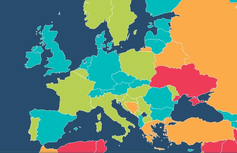 Украина заняла последнее место по уровню экономической свободы в Европе