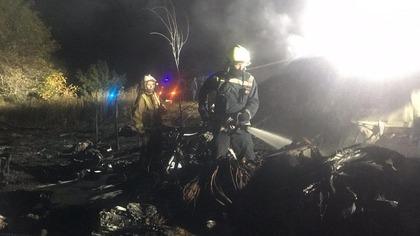 Военный самолет Ан-26 разбился в Харьковской области