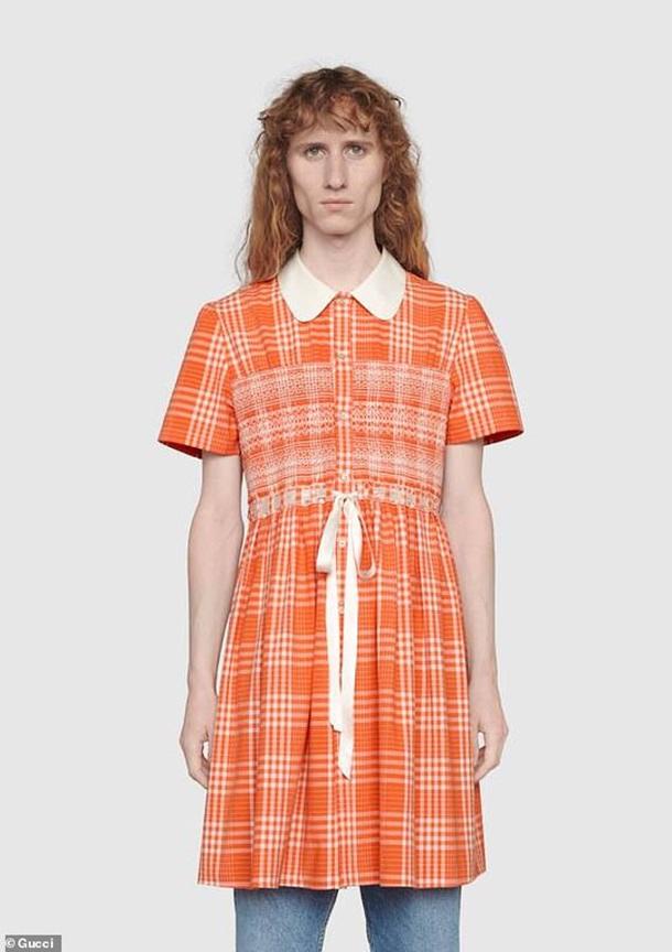 Gucci выпустил платье для мужчин (фото)