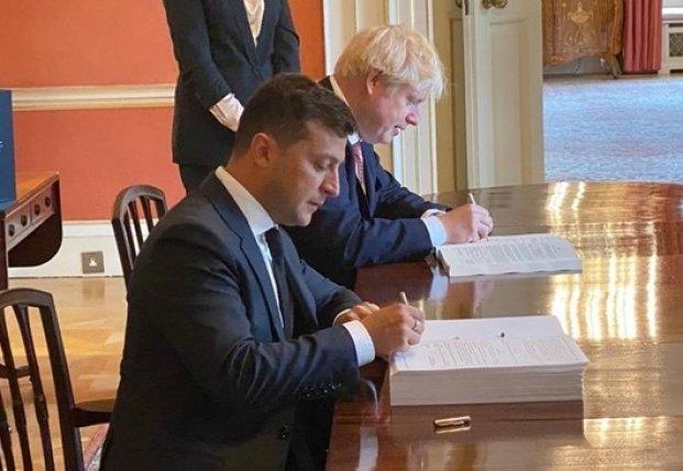 Украина и Британия договорились о сотрудничестве