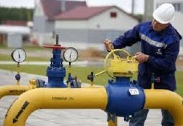 Транзит газа через Украину упал на треть