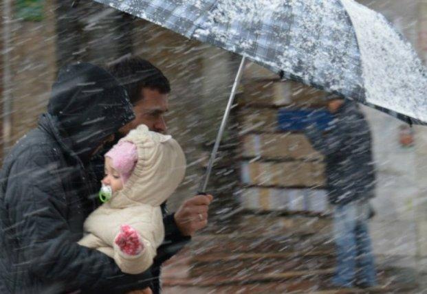 Прогноз погоды на 24 ноября: в центре и на востоке будет дождь со снегом