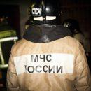 Частный жилой дом загорелся в Новокузнецке