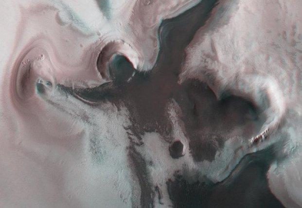На Марсе появилось изображение