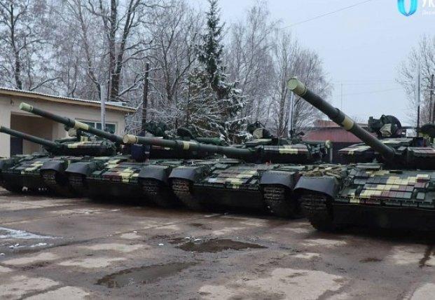 Военным передали партию модернизированных танков