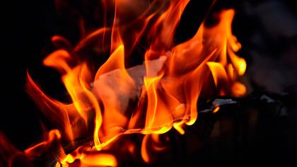 Кузбассовец погиб при пожаре в хозпостройке