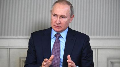 Путин поручил проводить вакцинацию от COVID-19 на следующей неделе