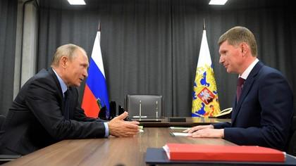 Путин потребовал прекратить рост цен на продукты в течение недели