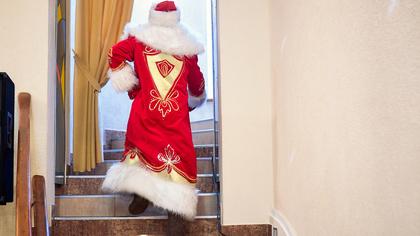 Дед Мороз из Челябинска сжег