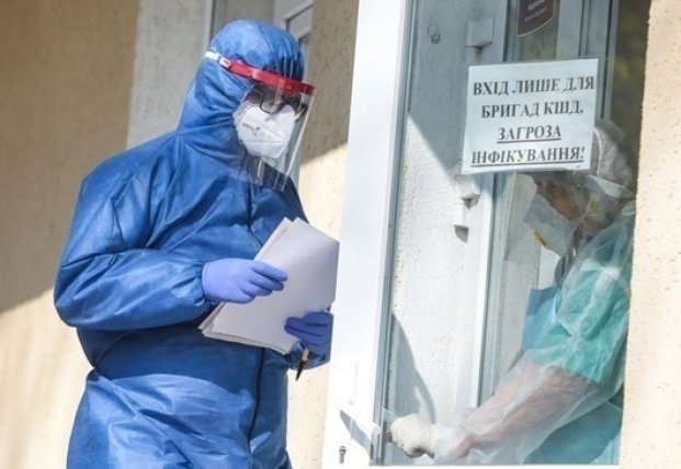 В Украине уже 1,223 млн случаев COVID-19, за сутки - 2 394
