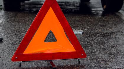 Последствия тройного ДТП в Новокузнецке попали на видео