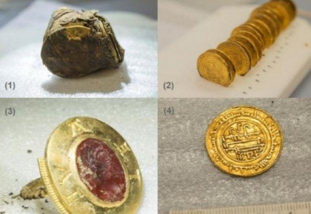 Археологи обнаружили во Франции древний клад (видео)
