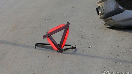 Машина отлетела на крыши других автомобилей в результате ДТП на кузбасской трассе