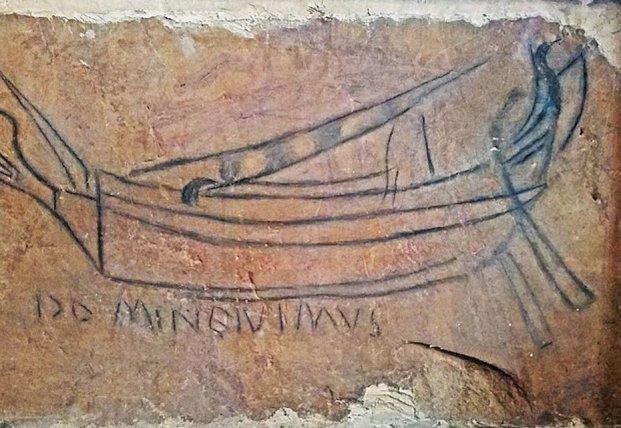 Древний рисунок подсказал место распятия Иисуса Христа
