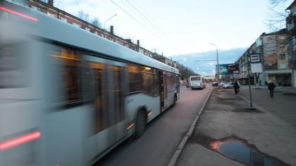 Мэрия Кемерова наказала водителя автобуса за игнорирование остановки