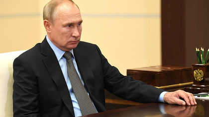 Путин освободил от должности первого замдиректора ФСИН