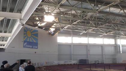 Крыша спорткомплекса обрушилась во время детских соревнований в Кирове