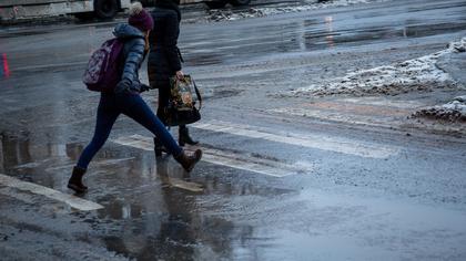 ГИБДД предупредила кузбассовцев о потеплении до +12°С и гололеде