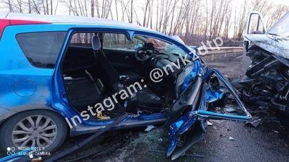 Серьезное ДТП с несколькими машинами произошло на въезде в Новокузнецк